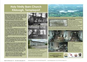 Holy Trinity Barn church Tourist Infomation sign